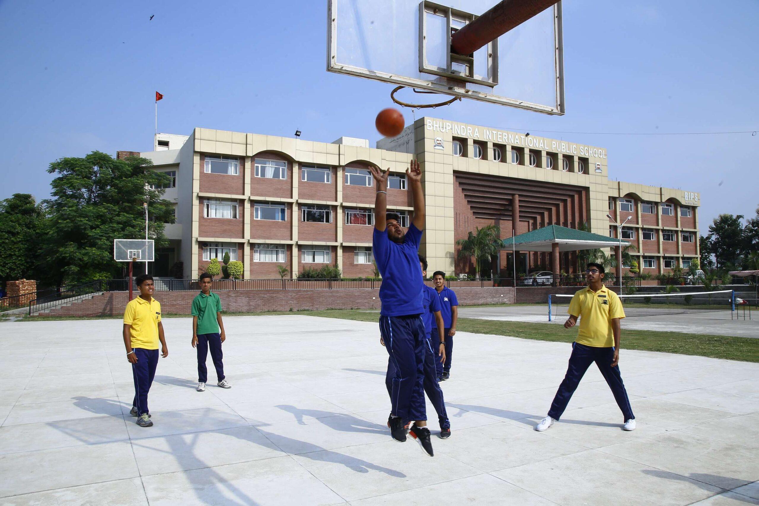 Basket ball practice