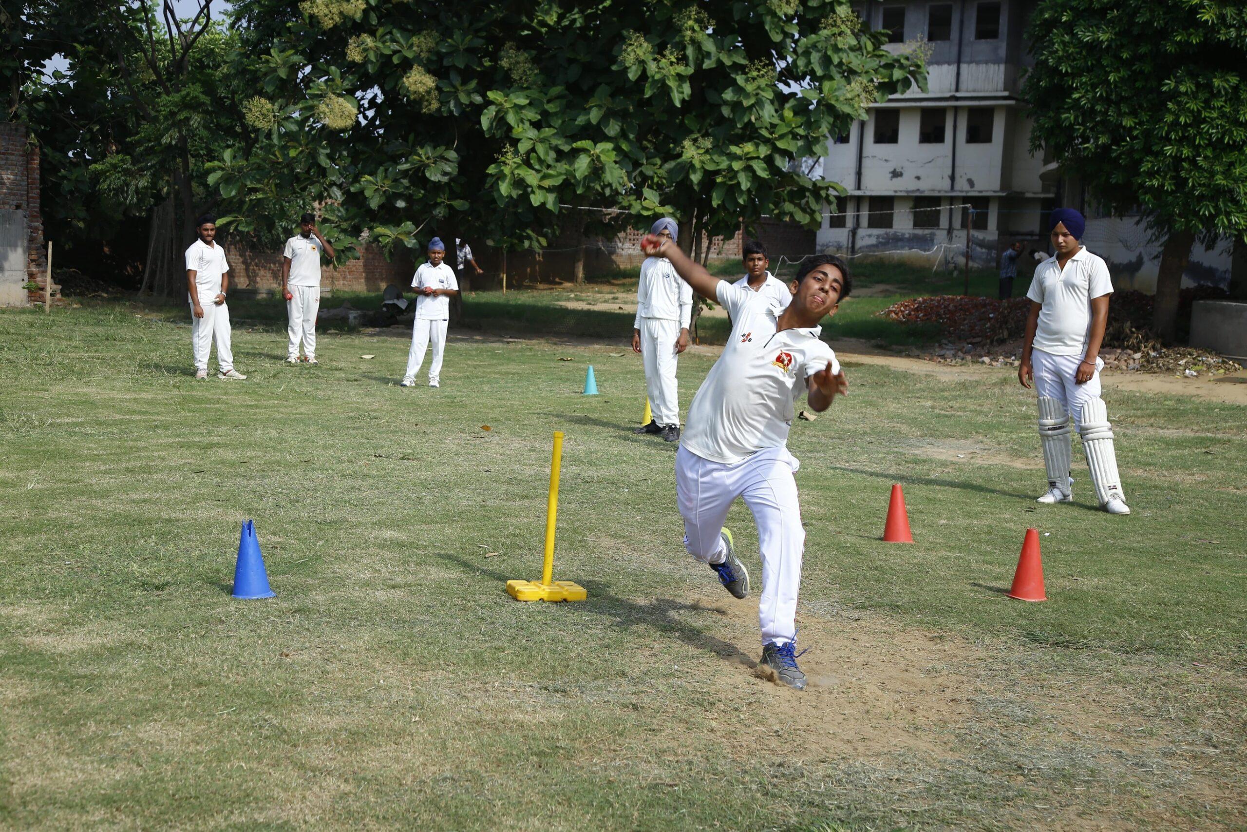 Balling Practice at School Premises
